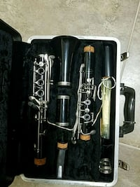 black and gray clarinet with case Beltsville, 20705