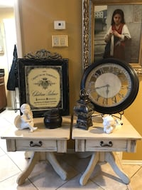 Two side tables/nightstands Corona, 92879
