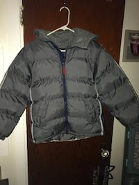 Dark Gray Boys size 10-12 winter coat Pen Argyl, 18072