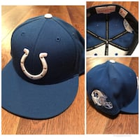 Colts, #18 , fitted hat Bonne Terre, 63628