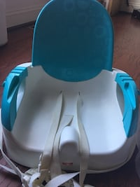 baby's blue and black booster seat Gaithersburg, 20877