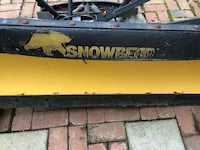 "Snowbear 7 ft plow. ""As in"" condition. $200 OBO, Priority pick up, cash only, Monrovia  Monrovia, 21770"