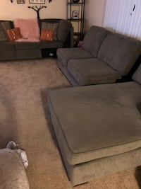 Sectional 3 peice grey couches like New $600 2328 mi