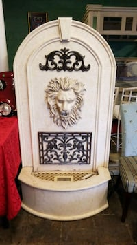 white and brown wooden floral embossed cabinet New Orleans, 70126