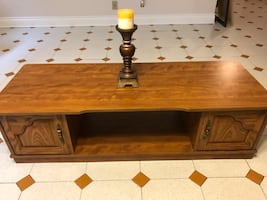 Wood decoration table for living room ( Laval area )