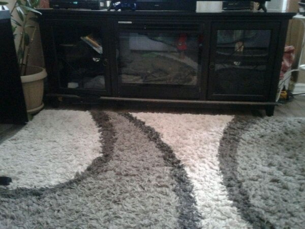 Tv stand and fire place
