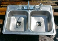 Polar kitchen sink stainless steel