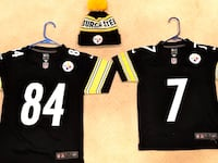 Youth Steelers & Chargers jerseys & Bennie hat Palmdale, 93551