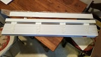 "2"" Faux Wood Blinds(2)"