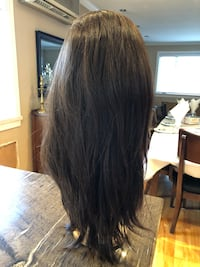 Wig, human hair, 18inch 1 year old never used, cap median   Montréal, H4M 1S2