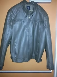 Brand new guess coat leather