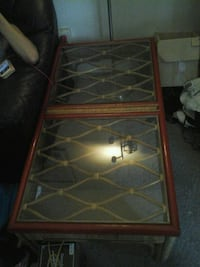Ratan coffee table