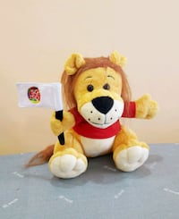 Orchid Country Club SG50 Lion Plush Toy / Soft Toy Singapore