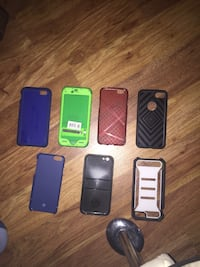 five assorted iPhone cases and two black iPhone cases Los Angeles, 90027