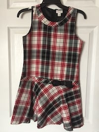 Girl's TCP holiday plaid dress size 8-10 new Mississauga, L5K 1H5