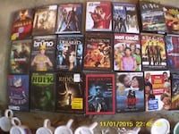 Over 100 More DVDs For Sale $1 Or Less  All The DVDs Are Used, But Good.  We Can Meet For You To Check Them Out   Or You Can Come To My House To Check Them Out.   God Bless You.  FAYETTEVILLE