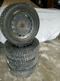 Volvo s70 winter tires and rims Shanty Bay, L0L 2L0