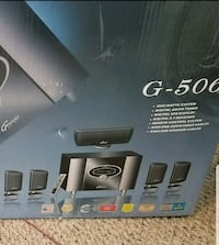 Brand new Genesis home theater system  brand new  comes with box
