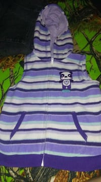 purple and white striped polo shirt 3013 km