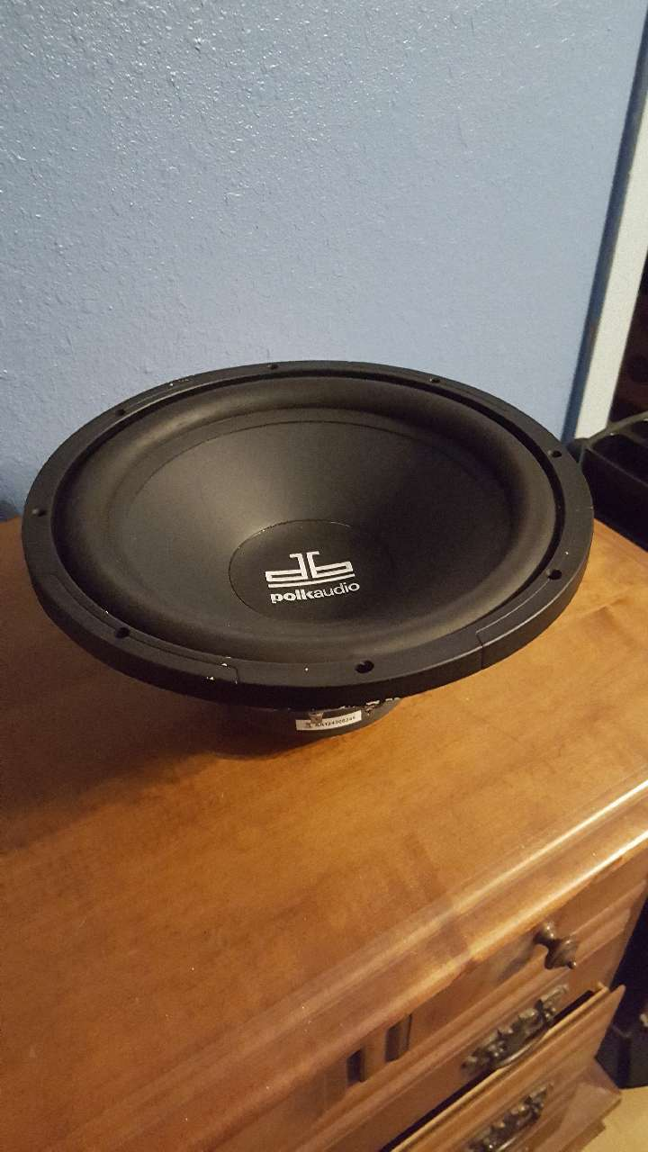 12 inch Polk Audio Sub