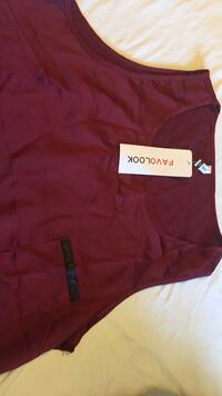 maroon v-neck shirt Columbia, 65202