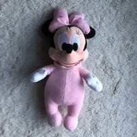 Disney Parks Exclusive Baby Minnie Mouse Plush Toy