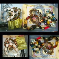 beaded assorted-color bracelet lot collage Olympia, 98501