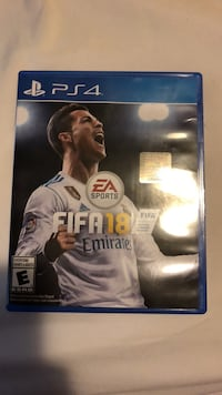 Fifa 18 in great condition Cambridge, N3H 4G3