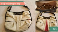 brown and beige diaper bag Barrie
