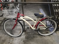Super cute cruiser bike with large front basket and U lock Aliso Viejo, 92656