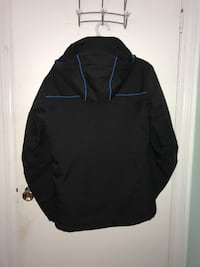 Black and blue Solomon ski jacket Burnaby, V3N 2H7