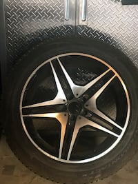 Winter tires and rims  Calgary, T3H 5J5