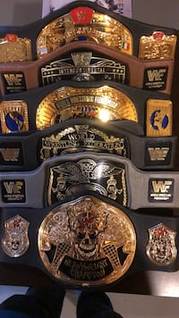WWF WWE wrestling belts East Gwillimbury, L3X 0B6