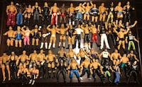 WWE WRESTLING ACTION FIGURES COLLECTION WWF WCW ECW TNA Pawtucket, 02860