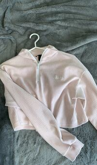 baby pink long sleeve.