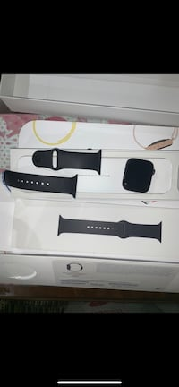 black Apple watch with black sports band Long Beach, 90802