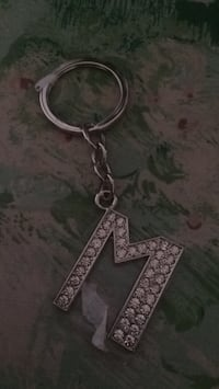 Letter M keychain Frederick, 21702