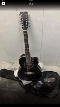 Electric acoustic 12 string guitar