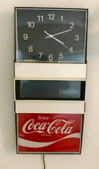 Vintage coke wall clock  Los Angeles, 91601