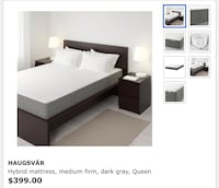 Ikea mattress (queen size) null, T7Y 1A2