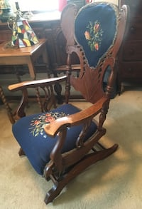 Unique Oak Rocking Chair