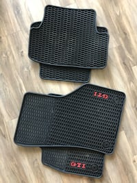 GTI monster and carpeted mats, two 4x sets