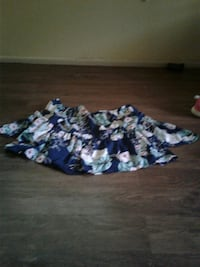 women's blue, white, and teal floral skirt Bossier City, 71112