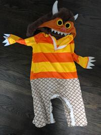 18-24 months where the wild things are costume  Oshawa, L1H 2X7
