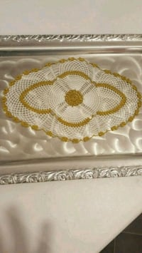 handmade lace tray cover Toronto, M1R 2H2