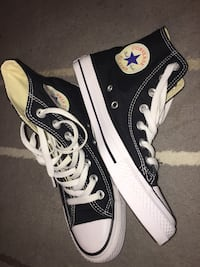 Pair of black converse all star high-top sneakers Edmonton, T5B 0T5