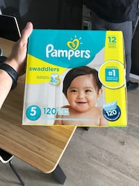 Diapers Pampers stage 5 Toronto, M5A