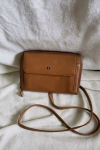 AIGNER Saddle Tan Crossbody Port St. Lucie, 34983