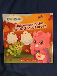 Brand new never used Care Bears Halloween paperback book Pickerington, 43147
