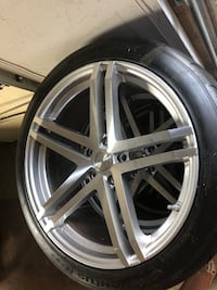 20 inch rims and tires 5x120 lug pattern  Round Hill, 20141